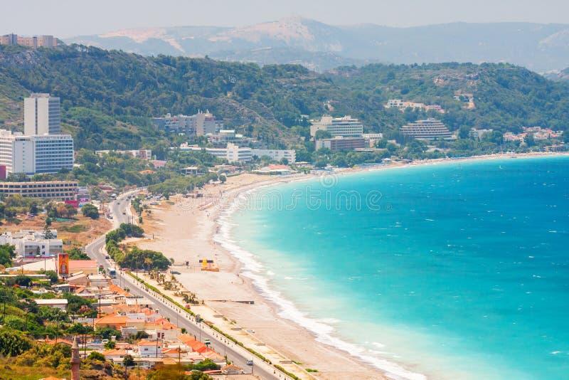 Rhodos-Insel, Griechenland lizenzfreies stockfoto