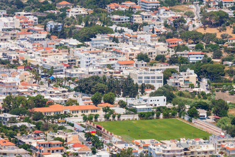 Rhodos-Insel, Griechenland lizenzfreies stockbild