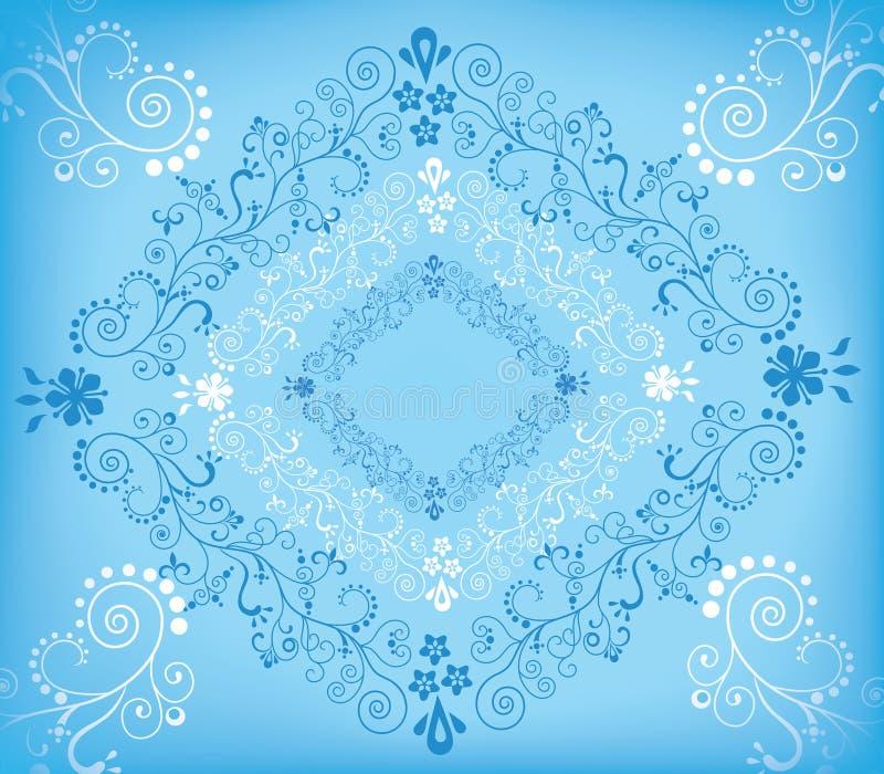 rhomb bleu illustration libre de droits