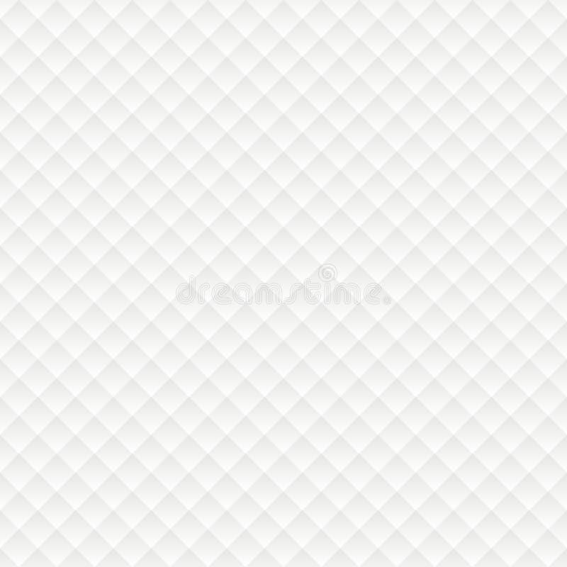 Rhombus bezszwowy biały tło ilustracji