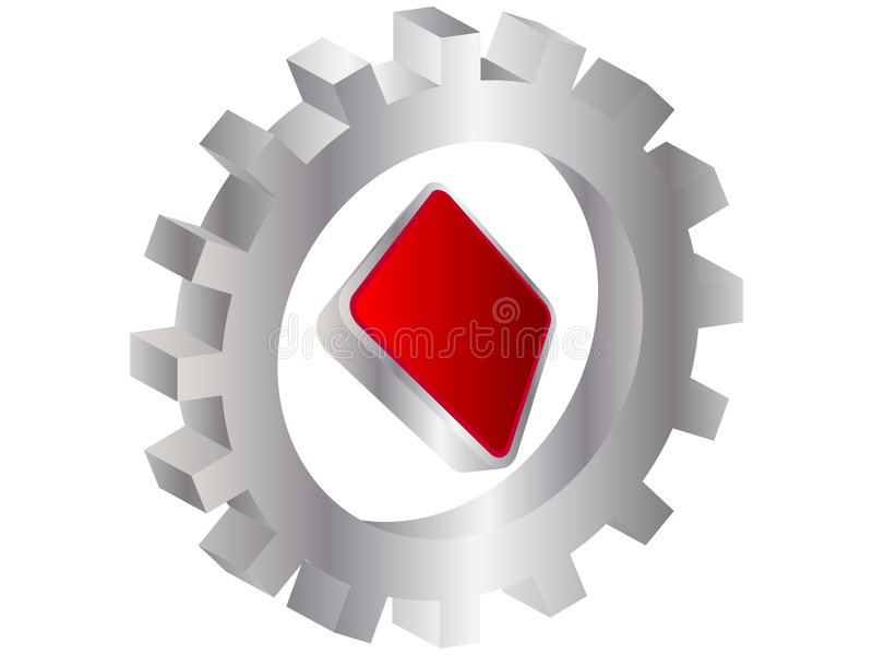Download Rhombus Dell'elemento Del Casinò Illustrazione Vettoriale - Illustrazione di scheda, geometrico: 7308126