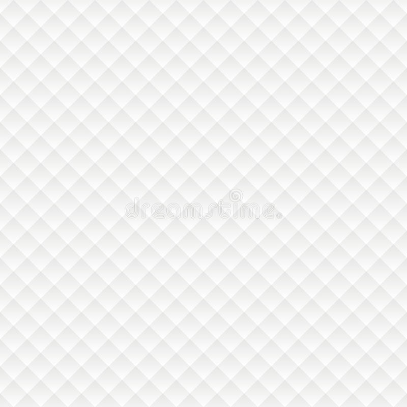 Rhombus seamless white background. Simple pattern for Web stock illustration