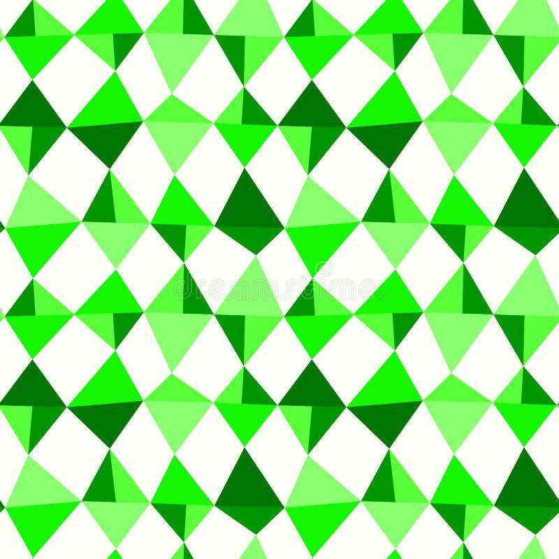 Download Rhombus Triangles Seamless Pattern Stock Illustration - Image: 97098599