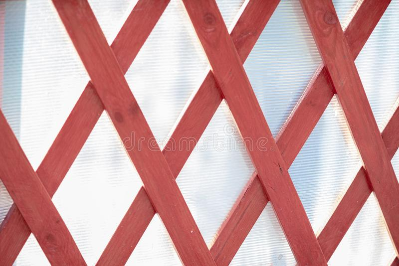 Rhombuses of wooden bars. wood texture on white background. Fresh royalty free stock images