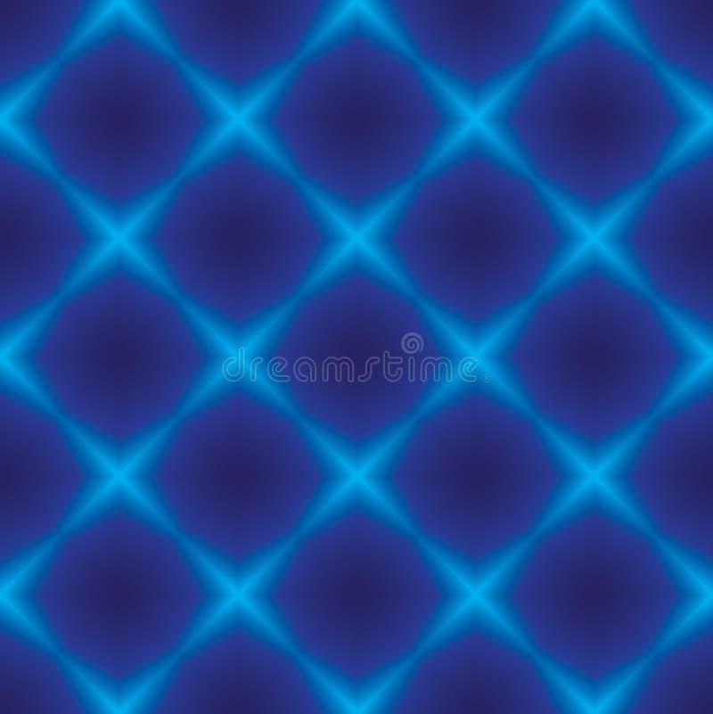 Rhombuszeichen auf einem Blau stock abbildung
