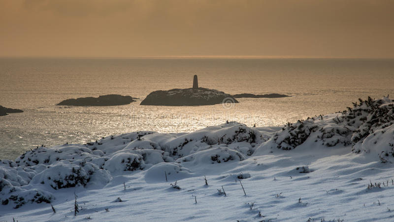 Rhoscolyn Beacon Royalty Free Stock Images