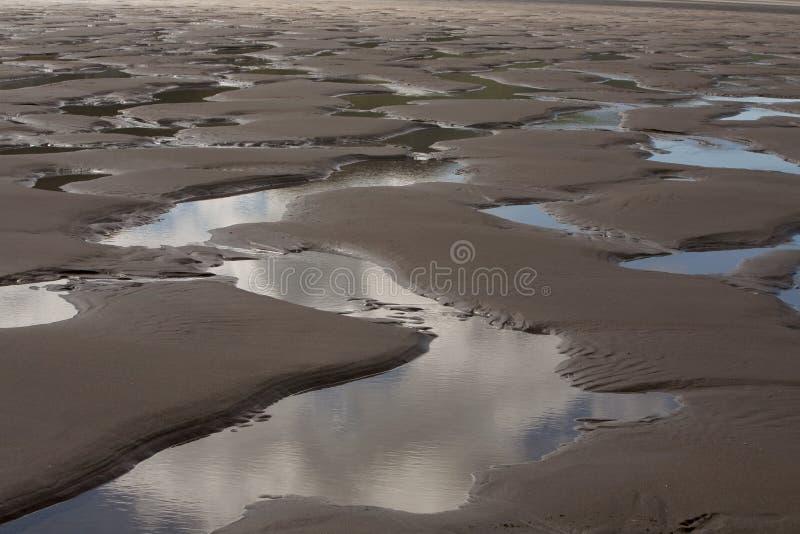 Rhossili Strand lizenzfreie stockfotos