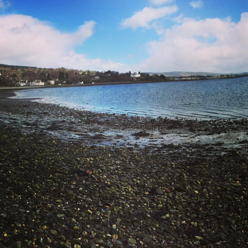 Rhu, Helensburgh, Scotland royalty free stock photos