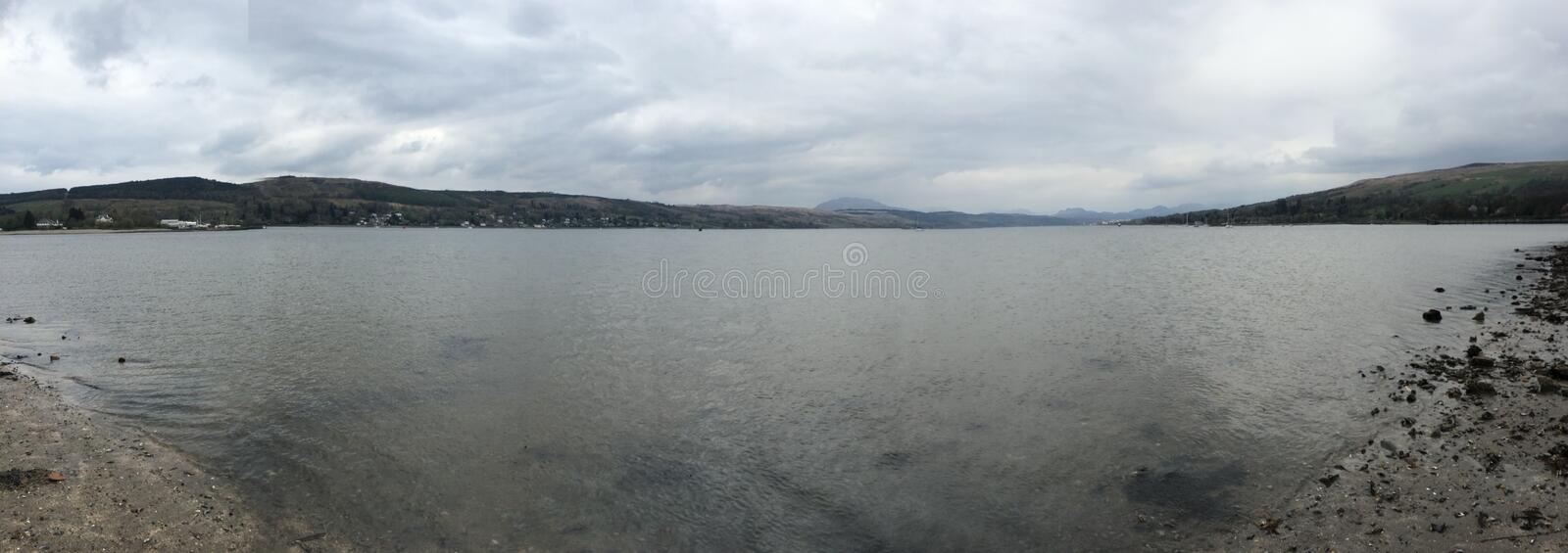 Rhu, Helensburgh, Scotland royalty free stock photo