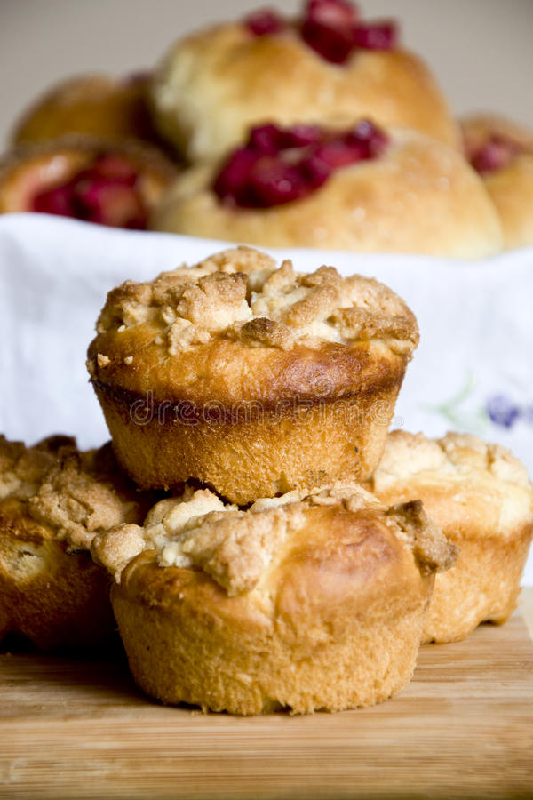 Download Rhubarb muffins stock image. Image of cuisine, daisy - 18921663