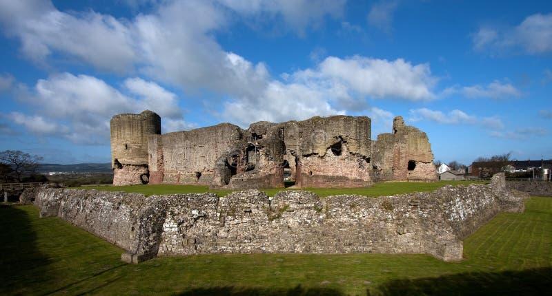 Rhuddlan Schloss stockbilder