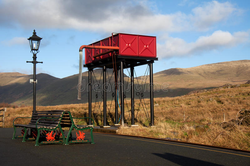 Download Rhyd Ddu railway station stock photo. Image of national - 17103522