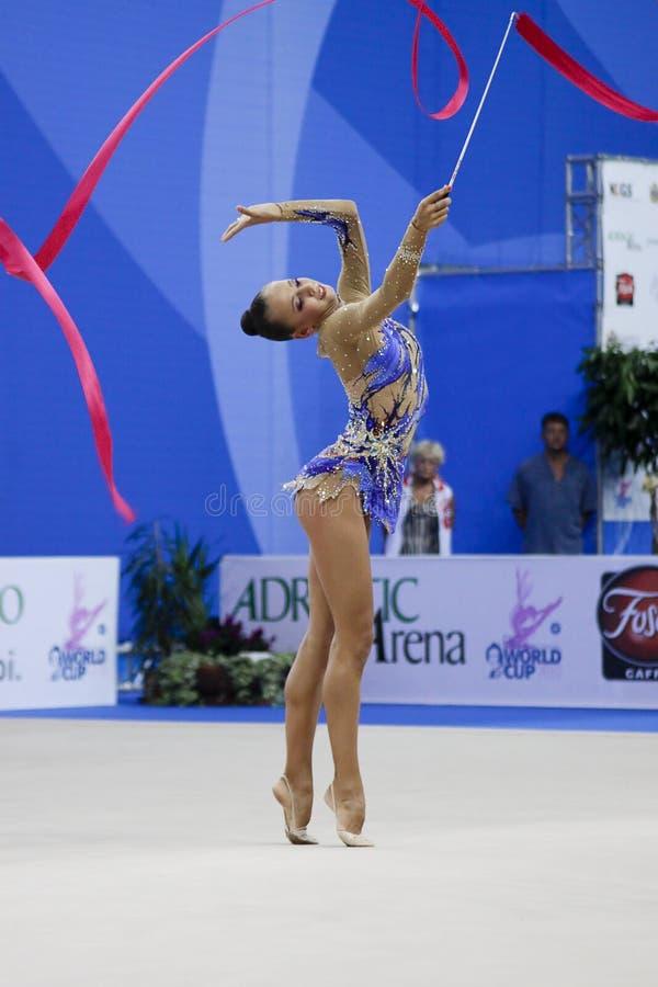 Download Rhythmic Gymnast Daria Dmitrieva Pesaro WC 2010 Editorial Stock Photo - Image: 15963018