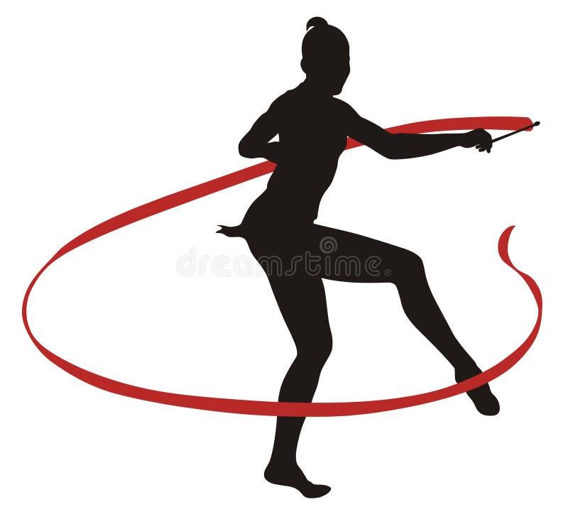 Download Rhythmic gymnastic stock vector. Image of olympics, rhythmic - 6148267