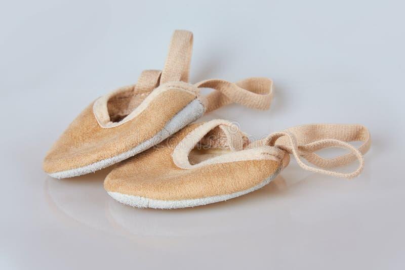 Rhythmic Shoes Toe Half Gymnastics Beige Nude Lyrical Dance New 1 Pair