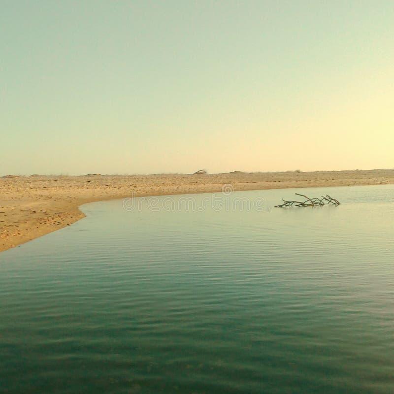 Ria Φορμόζα, Αλγκάρβε στοκ φωτογραφία