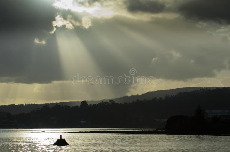 Ria de Pontevedra stock image