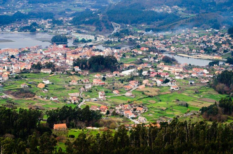 Ria de Vigo royalty free stock photos