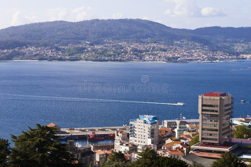 Ria di Vigo immagini stock libere da diritti