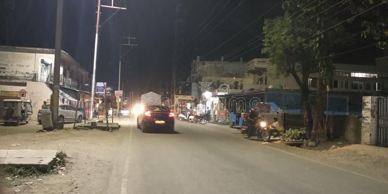 Riad στη νύχτα στοκ φωτογραφία
