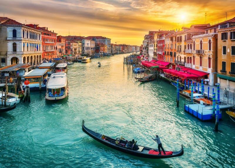 rialto Βενετία γεφυρών στοκ φωτογραφίες με δικαίωμα ελεύθερης χρήσης