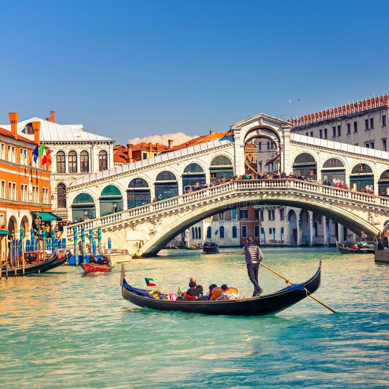 rialto Βενετία γεφυρών στοκ φωτογραφία με δικαίωμα ελεύθερης χρήσης