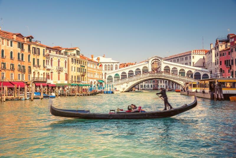 rialto Βενετία γεφυρών στοκ εικόνες