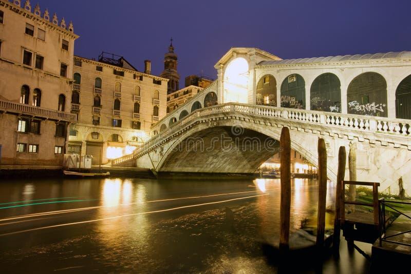 Rialto Brücke, Venedig stockbild