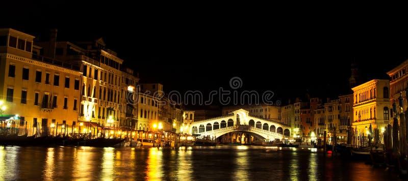 Rialto bridge in Venice, Italy stock photos
