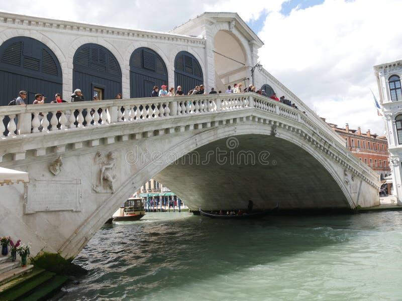 rialto venice моста стоковые изображения rf