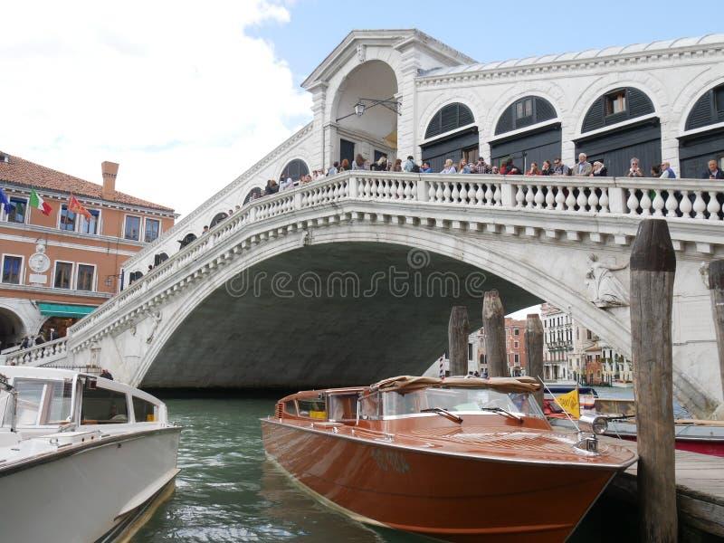 rialto venice моста стоковая фотография