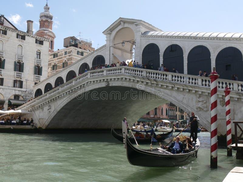 rialto venice моста стоковое изображение