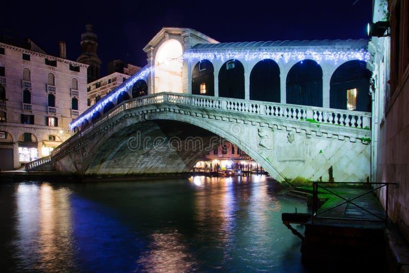 Rialtobrug, Venetië stock afbeeldingen