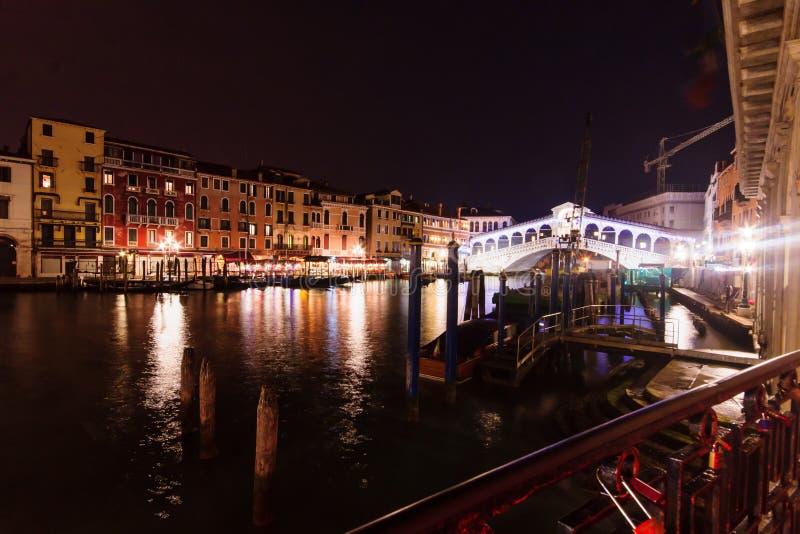 Rialtobrug, Venetië royalty-vrije stock afbeelding