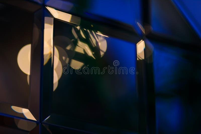 Riassunto di Golden glare su sfondo bokeh astratto - immagine fotografie stock libere da diritti