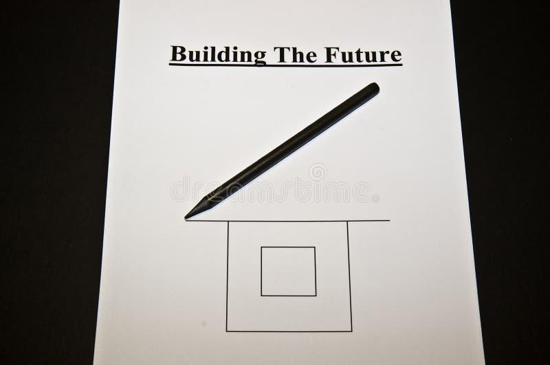 Riassunto: Strategia di Busines per il futuro immagine stock