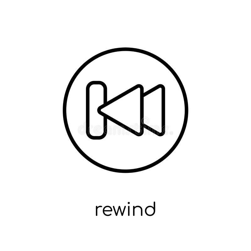 Riavvolga l'icona dalla raccolta royalty illustrazione gratis