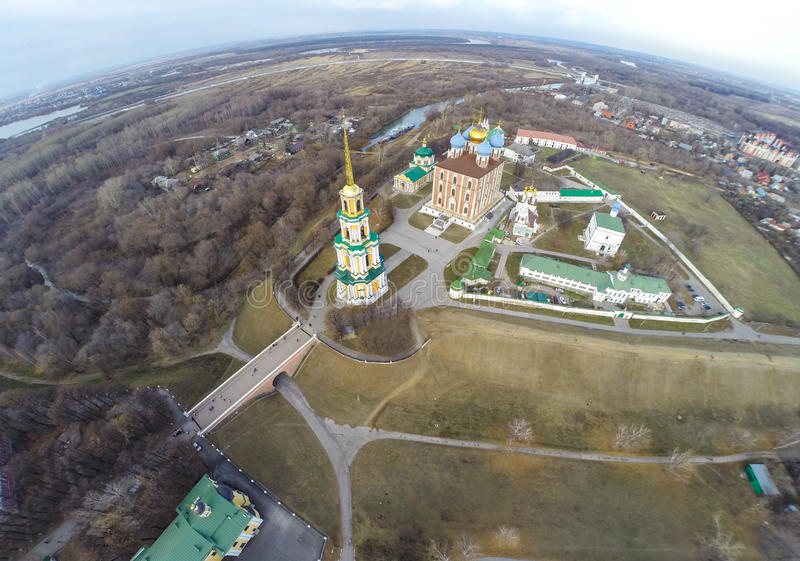 Riazan kremlin image libre de droits