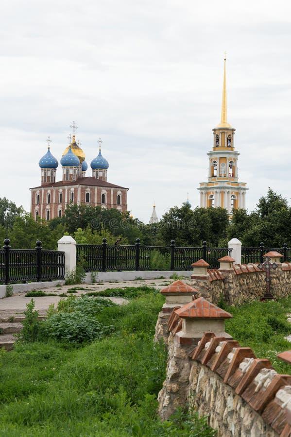 Riazan Kremlin immagine stock libera da diritti
