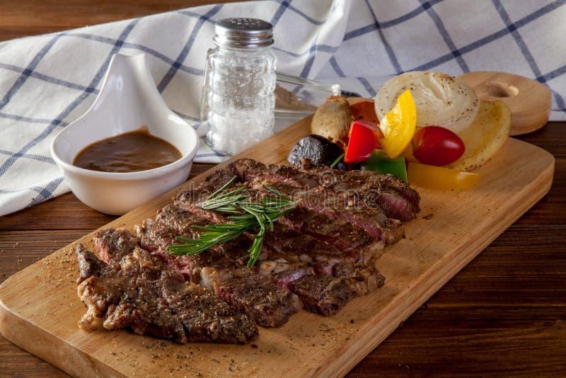 Rib Eye Steak lizenzfreies stockfoto