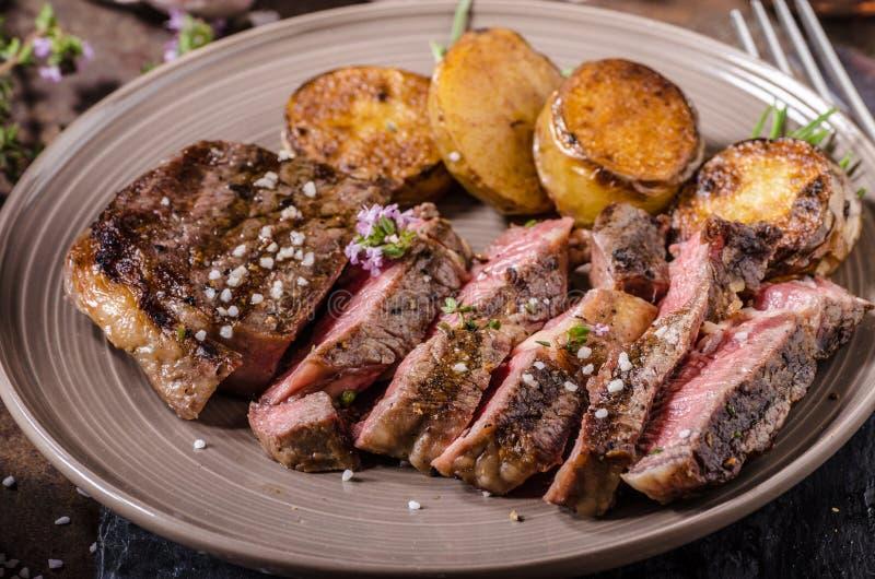 Rib Eye Steak fotografia de stock