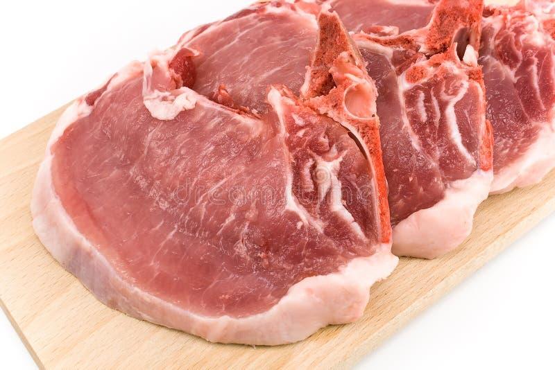 Download Rib Eye Steak Meat On A Cutting Board Stock Photo - Image: 28346828