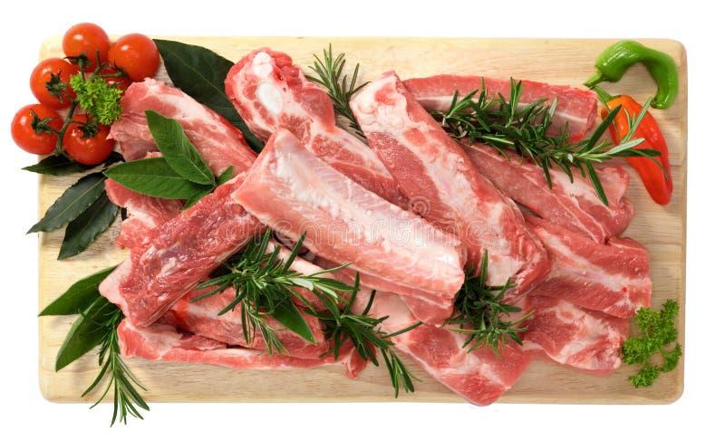 Rib Of Pork Stock Photos