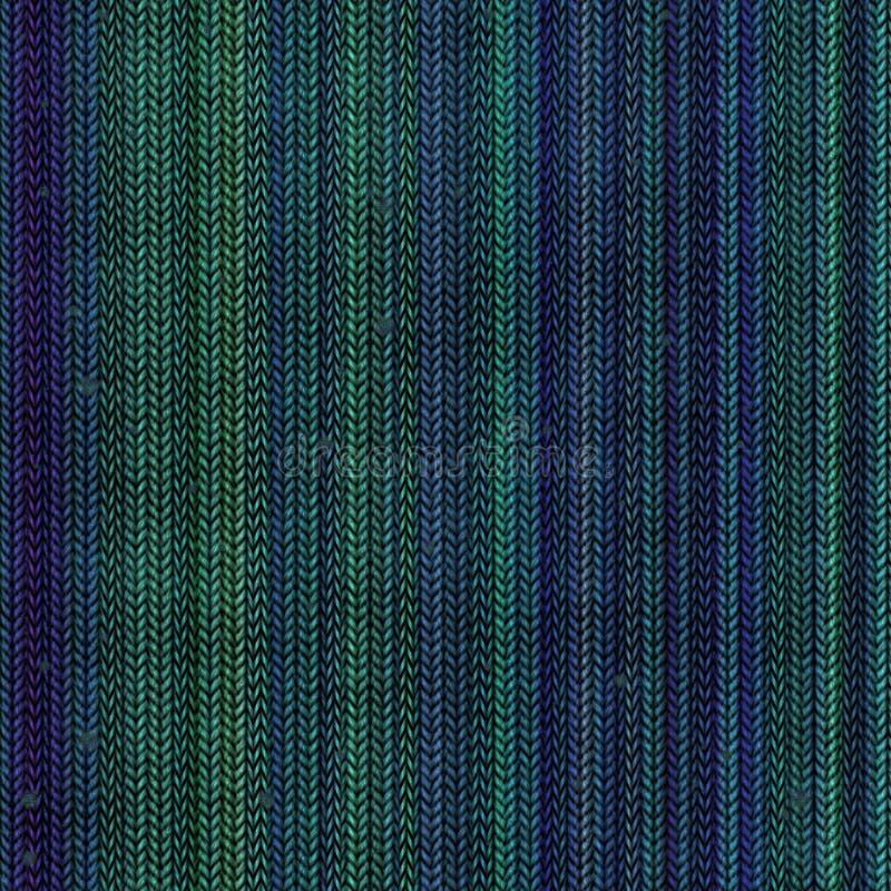 Rib stuckit tyg som texturdesign i gräsplanblåttfärger tillbaka royaltyfria bilder