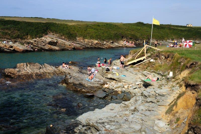 Ribadeo.Spain photo stock
