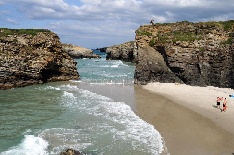 Ribadeo - Spain royalty free stock photo