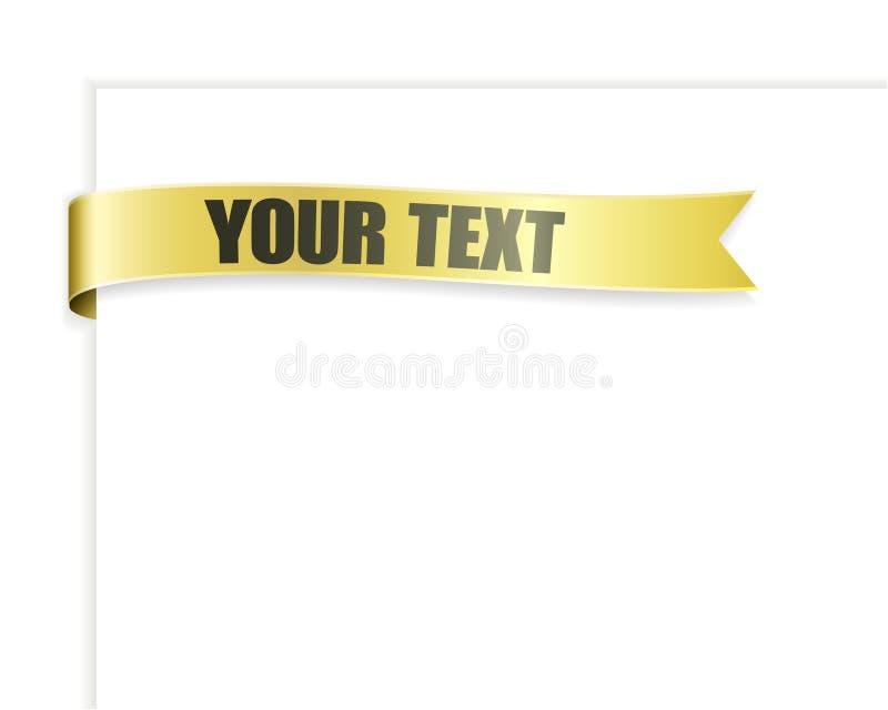 Download Riband stock vector. Illustration of ribbon, printing - 10236244