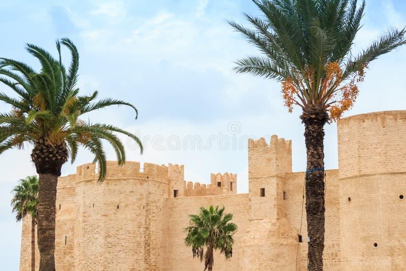 Ribat在Monastir,突尼斯 库存图片