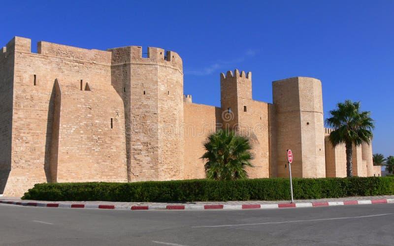 Ribat de Monastir, Tunisie photos stock