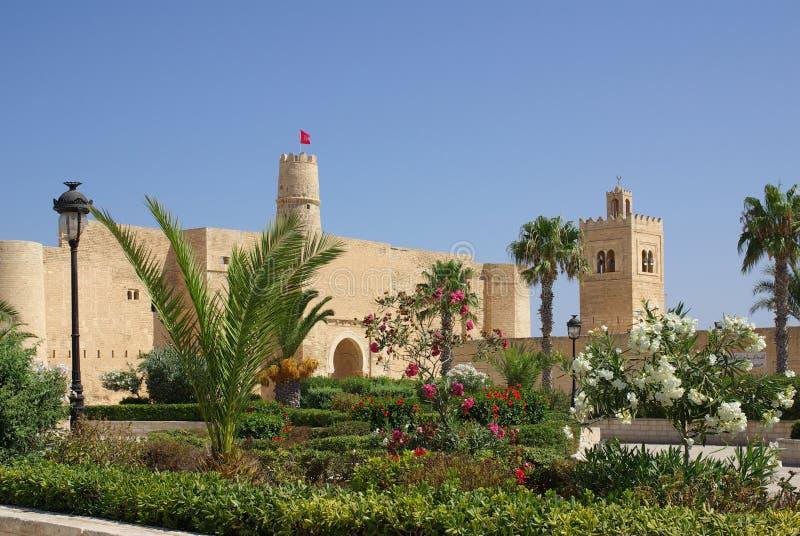 Ribat in Monastir in Tunisia, Africa fotografia stock